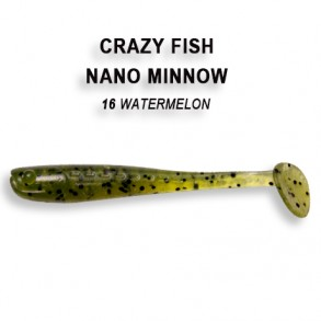 Crazy Fish Nano Minnow 55mm lot de 8 pces