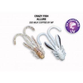 Crazy Fish Allure 27mm lot de 10 pces