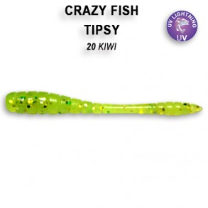Crazy Fish Tipsy 50mm lot de 8 pces