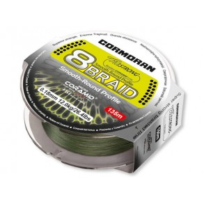 Cormoran CorasStrng 8.Braid 0.16mm / 11.4 kg / 135m