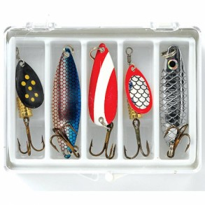 MITCHELL LURE KIT SPINNERS AND SPOONS